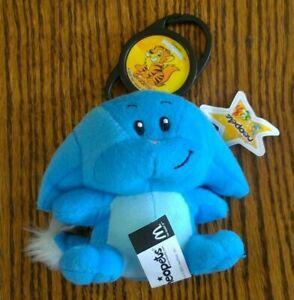 2005 Neopets McDonald's BLUE KACHEEK Plush w/Star Tag, Grusler Petpet clip