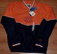 Auburn University Tigers Pullover Jacket Embroidered AU Logos NCAA