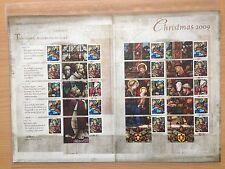 Seasonal, Christmas Decimal British Stamp Sheets