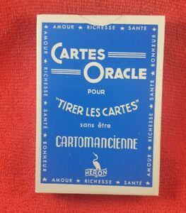 jeu de carte cartomancie oracle collection heron voyance neuf