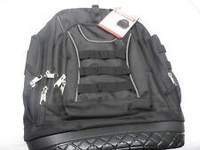 Craftsman Tool Bag Heavy Duty Back Pack Storage Pockets Organizer Black 26311