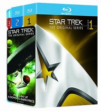 Star Trek: The Complete Original Series Seasons 1 2 3 Box / BluRay Set(s) NEW!