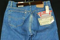 NWT Vintage 80s Levis 501 0113 Blue Denim Jeans Mens 36 x 32 Button Fly