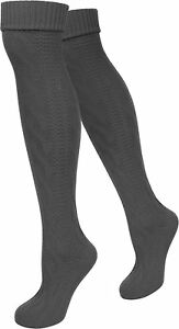 Oktoberfest Wiesn Trachtensocken Trachtenstrümpfe für Damen Zopf Socken meliert