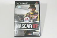 NASCAR 07 Sony PlayStation 2 Car Racing Video Game Complete w/ Manual Case