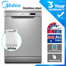MIDEA 14 P/S Freestanding Dishwasher Stainless Steel 12 Ltr/Cycle