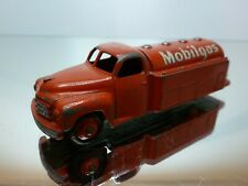 DINKY TOYS 440 PETROL TANKER MOBILGAS - RED - GOOD CONDITION