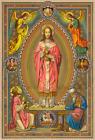 "Christ the High Priest – 8.5x11"" by Max Schmalzl – Catholic Art Print"