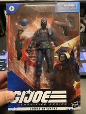 HASBRO GI JOE CLASSIFIED COBRA INFANTRY 6? ACTION FIGURE #24 MIB IN HAND.