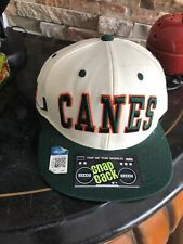 Vintage CANES Top Of The World Snapback Cap Hat Extremely Rare