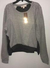 Women's Nicki Minaj Gray Long Sleeve Pullover Sweater - Size XL - NWT