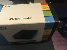 WD Elements 1 TB External Hard Drive USB 2.0  comes with box