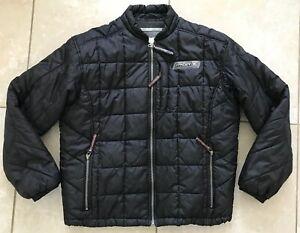 Spyder Mens Size Medium Insulated Puffer Jacket Black