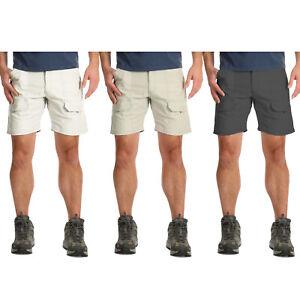 Mens Wrangler Cargo Combat Elasticated Hiker Shorts Cotton Work Big Size Pant