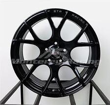 18x8.5 5x112 STR 905 GLOSS BLACK AUDI MERCEDES VOLKSWAGON