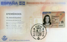 Spain Stamps 2020 FDC DNI Spanish National Identification Document 1v S/A Set