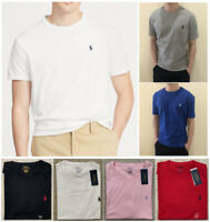 New Polo Ralph Lauren  Mens T shirt Classic Fit Short Sleeve S M L XL 2XL