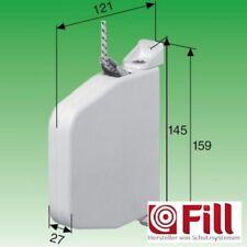 10 Stück SELVE Mini-Schnurwickler mit 5 m Schnur Weiß Aufputz Wickler Rolladen