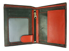 Men's Wallet Real Leather Colourful Wallet Purse Wallet 999