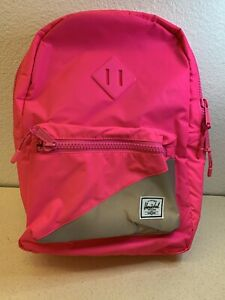 Herschel supply company Heritage Youth Neon Pink Reflective/Silver Reflective