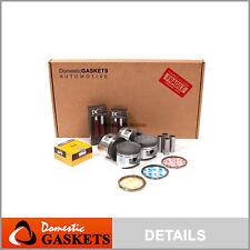 Fits 93-97 Mitsubishi Eagle 2.0 Turbo Full Gasket Piston Bearings Ring Set 4G63T