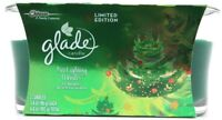 Glade Candles Limited Edition Tree Lighting Wonder Scented Candles 2 Per Pack