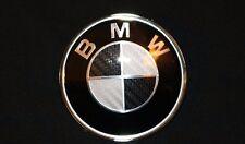 1 5 6 7 X Z SERIES BMW 82mm xDrive BLACK CARBON FIBER HOOD EMBLEM LOGO BADGE