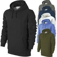M&S Mens Unisex Hoodie Fleece Pullover Jacket Sweatshirt Hooded 100% Cotton Top