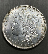 1921 Morgan Silver Dollar Philadelphia Mint Bullion Lady Liberty & Eagle Coin $1