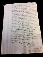 LETTER FROM MALAGA, SPAIN 1791