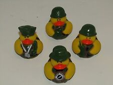 U.S. Army Rubber Ducky Duckies Wholesale Set (4 Different Army Ducks)