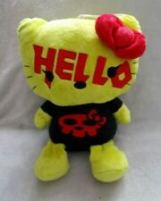 Rare Hello Kitty - Goth / Punk / Emo / Grunge Halloween Outfit Soft Plush Tedddy