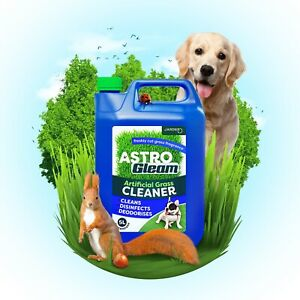 ARTIFICIAL GRASS CLEANER FAKE ASTRO TURF LAWN DEODORISER DOG CAT DISINFECTANT 5L