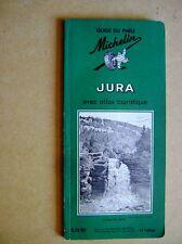 Guide Michelin Jura avec atlas touristique /C35