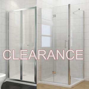 Frameless Shower Enclosure And Tray Framed Bifold Door 700/760/800/860/900/1000