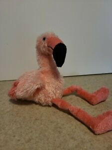 Princess Soft Toys Flamingo 8in 2001 Plush beautiful pink New without tag