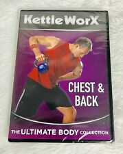 KETTLE WORX DVD CHEST AND BACK NEW AND SEALED