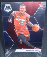 2019-20 Panini Mosaic Basketball Kendrick Nunn Rookie Card #234 MIAMI HEAT HOTTT