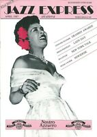 JAZZ EXPRESS Magazine April  1987   No 82 Billie Holiday