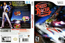 Speed Racer: The Videogame Nintendo Wii COMPLETE RACING the movie video game