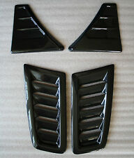 FORD FOCUS MK 2 RS Style BONNET VENTS ABS plus WING VENTS