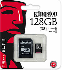 KINGSTON 128GB SDXC Micro SD CARD FOR SAMSUNG GALAXY S7, S7 Edge, S5 MOBILE