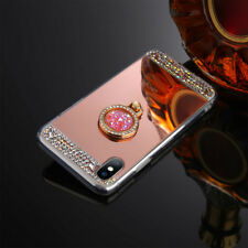 Glitter Luxury Women Bling Diamond Mirror Case Cover For iPhone 6s 7 Plus 5s SE