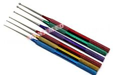 GERMAN SET OF 6 PCS Snake Probe Set Herp Tools Sexing Probes COLOR STAINLESS