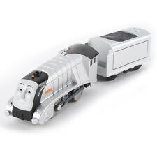 TRACKMASTER THOMAS MOTORIZED ENGINE- SPENCER W/ 1 TRUCK R9221