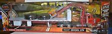 Long Haul Trucker, Peterbilt Model 379 New Ray, 1/32 Diecast Flat Bed, Brand NIB