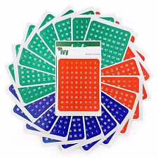 Ivy Stationery - 1,920 Assorted Self Adhesive Numbered Labels - 1-160 - (231020)