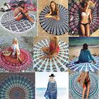 Bohemian Mandala Beach Tapestry Hippie Throw Yoga Mat Chiffon Towel Indian Shawl