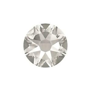 2058 2088 Crystal Clear Swarovski Flatback Crystals Non Hot Fix - Pack of 50