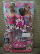 2013 BARBIE IN THE NUTCRACKER W/ TERESA 2-DOLL PACK CBK53 *NEW*